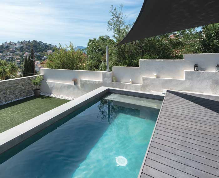 mobile deck for swimming pool Alkira